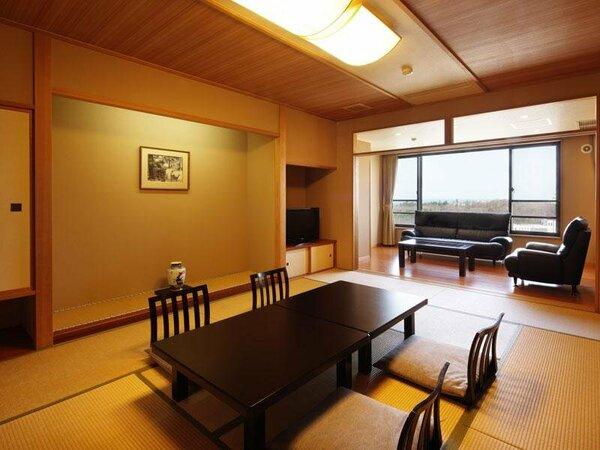 ■2005年リニューアルした12畳の標準客室■全室ウォッシュレット完備■冷蔵庫は保管スペース有り