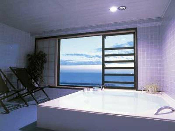 客室付展望風呂