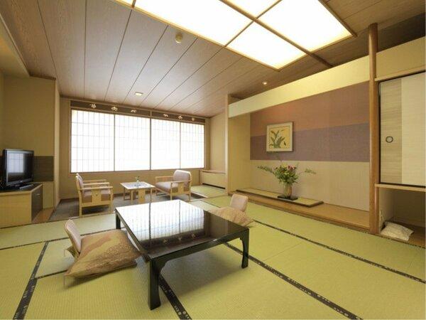 2018年3月リニューアル完成。雅亭スタンダード客室12.5畳和室