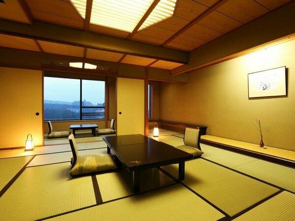 数奇屋造りの和風情緒あふれる新客殿一般客室