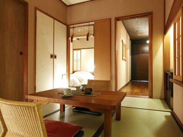 ■客室:和洋室A(定員3名)…36平米
