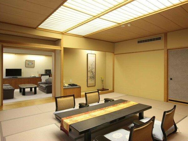 落ち着いたしつらいの別館特別室(一例)