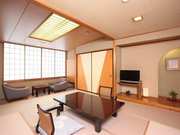 近代的な和風情緒の趣き 和室の一例