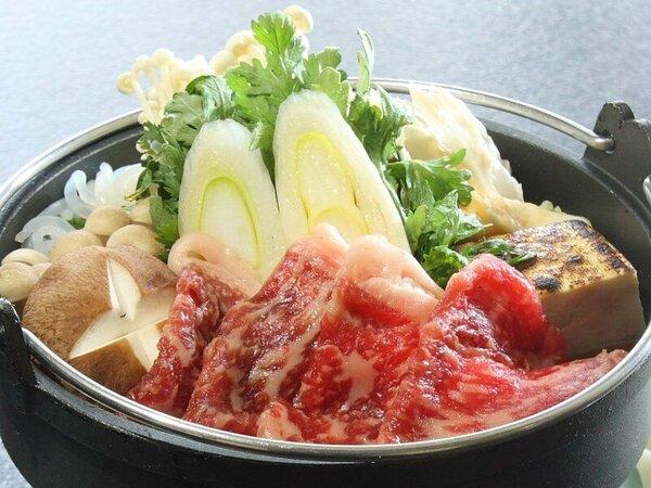 上州牛&群馬県産食材で作った特製上州すき焼き♪ぐんまの恵みを、存分にお楽しみください♪♪