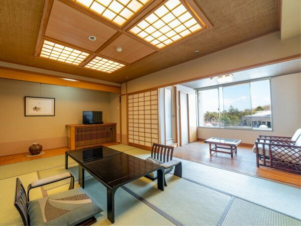 【標準客室和室10畳】洗練された和の空間