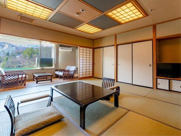 【特別室 与平次亭】~ゆったりと落着いた作りでお迎えいたします~