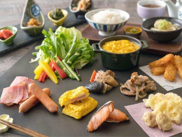 【朝食バイキング】和洋食、お好きなものをチョイス♪ ※イメージ