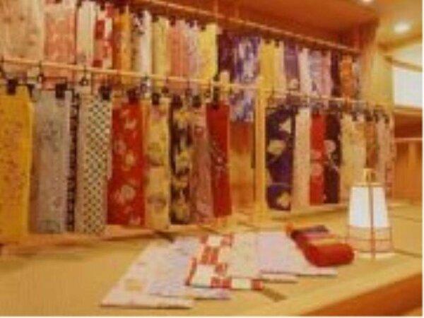 種類豊富な色浴衣