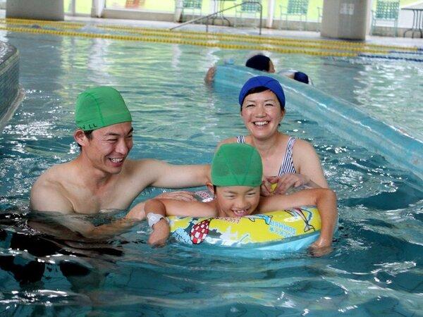 温水プール【テルメテルメ】は、雨の日でも楽しめる施設です♪