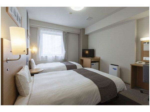 【ツインエコノミー】広さ19平米/ベッド幅123cm