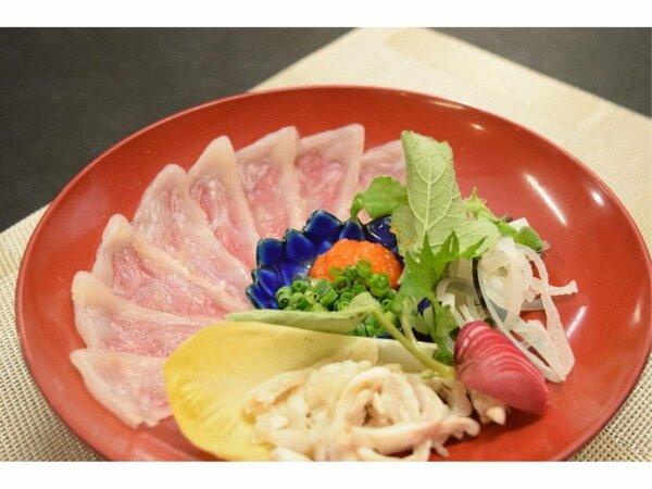 季節御膳用:河豚鉄刺(ふぐてっさ)