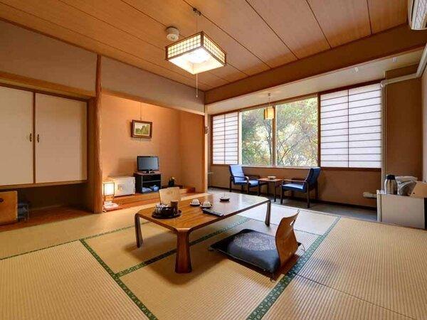 *和室(客室一例)/心休まる和の空間が広がるお部屋。団欒のひと時をお過ごし下さい。