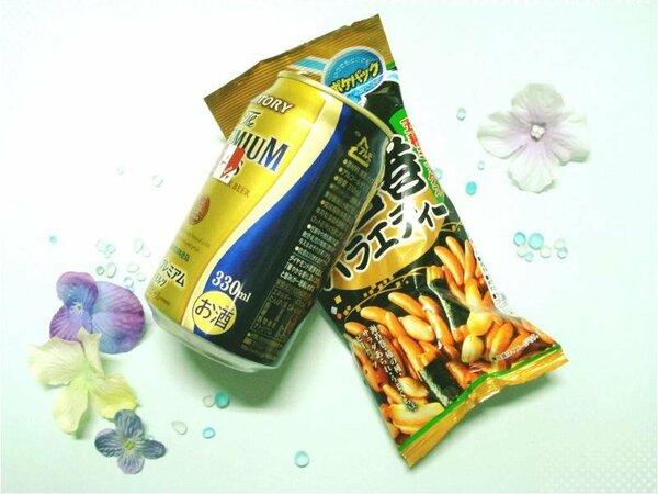 晩酌セット(缶ビール1本350ml・おつまみ1袋)