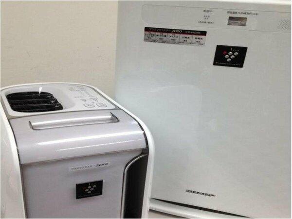 ★プラズマクラスター加湿空気清浄機を設置(一部の客室は仕様が異なります)