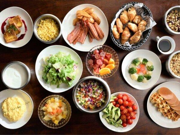 「リュクス ダイニング ハプナ」メインタワー1F 朝食(イメージ)