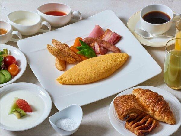 クロスダイン朝食