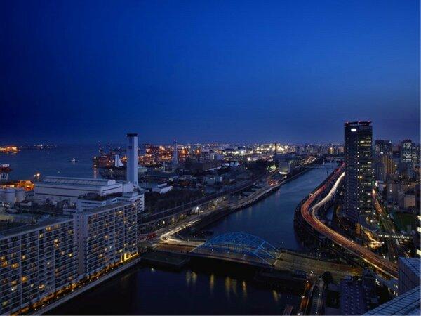 羽田空港サイド 夜景