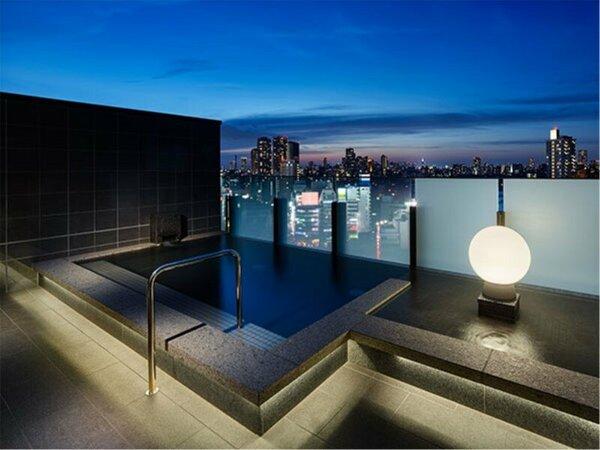 最上階16F大浴場【SPA】男性外湯