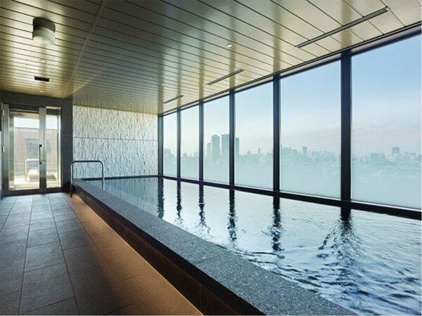最上階16F大浴場【SPA】男性内湯