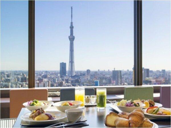 ご朝食は26階「武藏」のブッフェをご用意しております