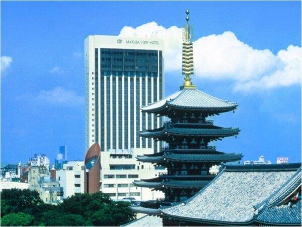 浅草ビューホテル全景