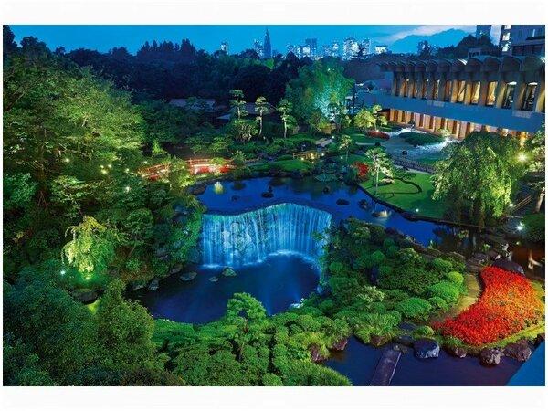 日本庭園・夜