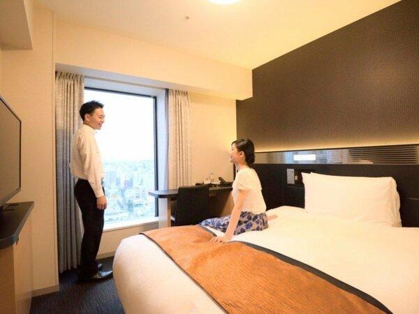 ◆ダブルルーム/18平米/ベッド150×200