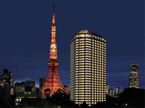 東京タワーまで徒歩約3分なので観光の拠点にオススメです。