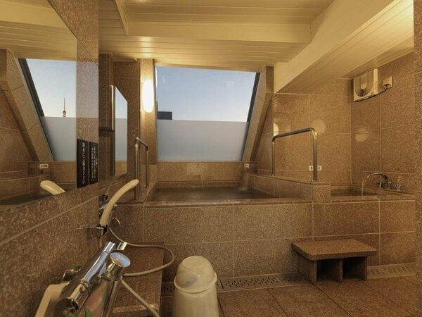 12階男性用大浴場の様子