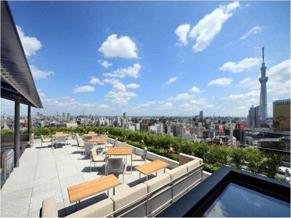 T terrace (14F) 心静かに東京スカイツリーを望む贅沢な時間。