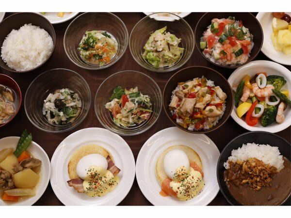 ◆和洋バイキング朝食