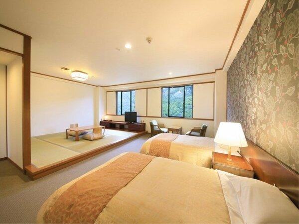 【ファミリールーム】松林側・和洋室