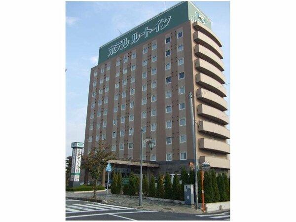 私鉄関東鉄道常総線水海道駅徒歩約2分、人工温泉大浴場完備!
