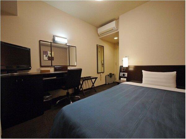 コンフォートシングルルーム:無料Wi-Fi、加湿機能付空気清浄器、液晶TV完備!