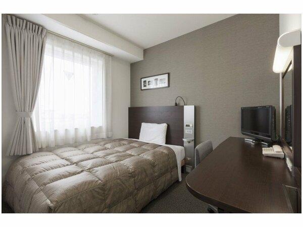 【ダブルスタンダード】広さ15平米/ベッド幅140cm