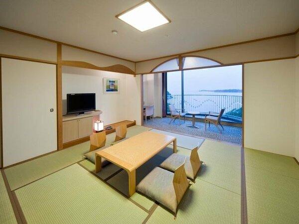【海側】(禁煙)■和室(12畳)50平米)
