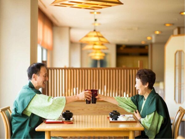 【ご夕食】ご家族やご友人とお食事の時間をゆっくりとお愉しみください(写真はイメージです)
