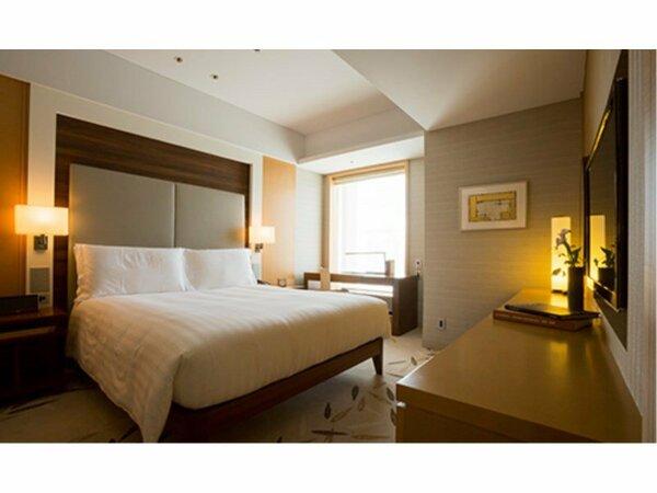 高層階夜景 1ベッドルーム デラックス レジデンス【禁煙】 ベッドルーム