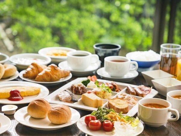 「シャガール」朝食イメージ