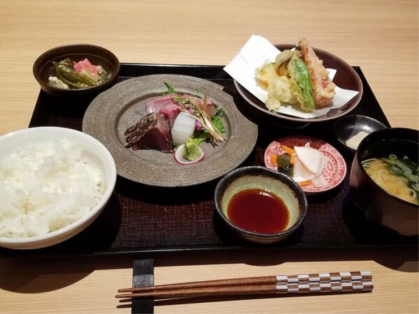 ミシュラン大阪に一つ星で掲載された「京町堀 莉玖」シェフ監修レストラン「青庵」の夕食一例