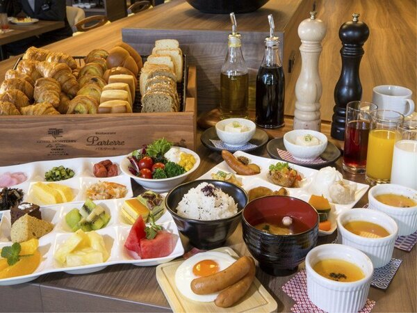 【朝食ブッフェ】レストラン「パルテール」での和洋ブッフェ