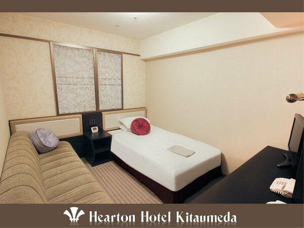 ■レディース:シングルルーム:140cm×198cm (シモンズ社製)のベッド