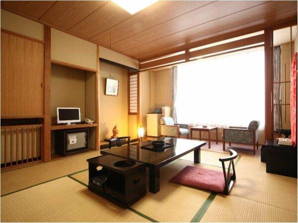 和室のお部屋の一例(8畳以上をお約束)