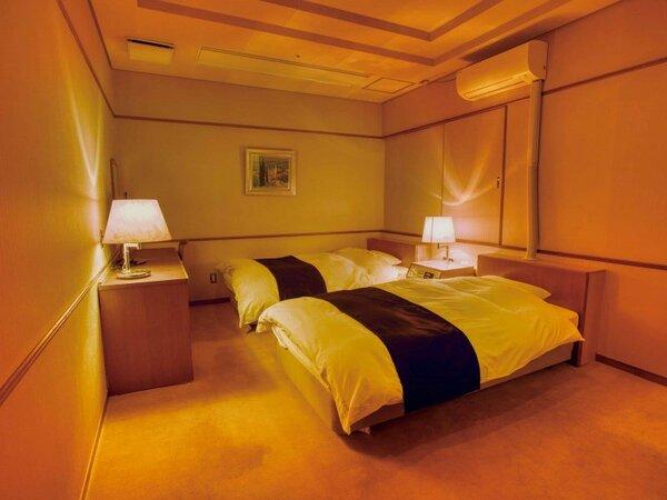 洋室ツイン(山側) ※客室の一例