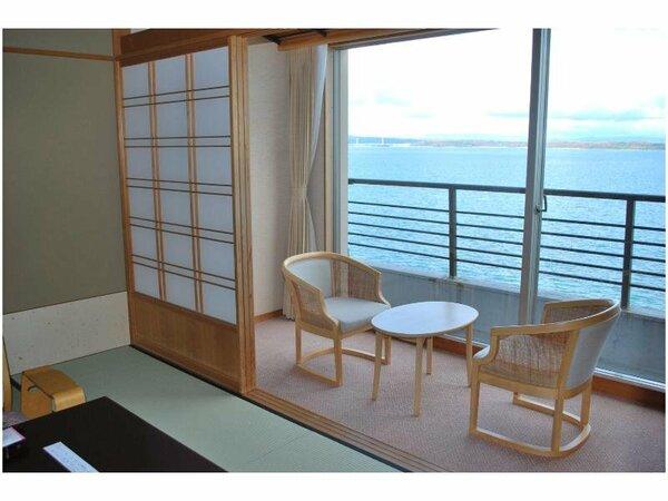 新館「白鷺亭」の客室の一例です。