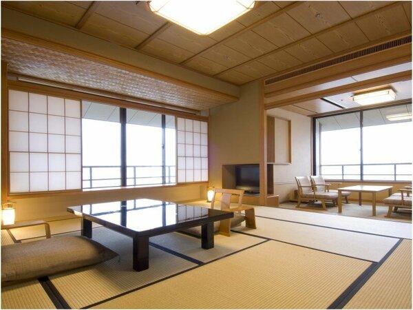 能登渚亭の客室一例