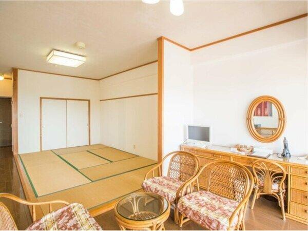 本館スタンダードタイプ和室:7.5畳(20平米)+20平米