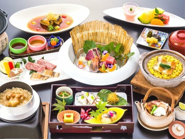 ご当地グルメステイ【2食付・日本料理グレードアップコース】