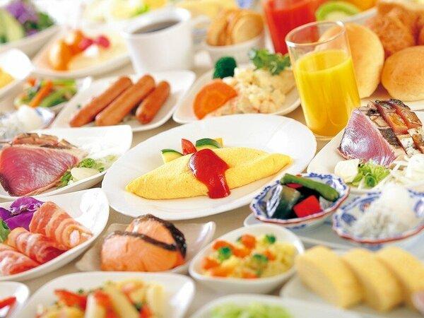 <朝食バイキング>和洋メニューに高知のお料理など約50種類!