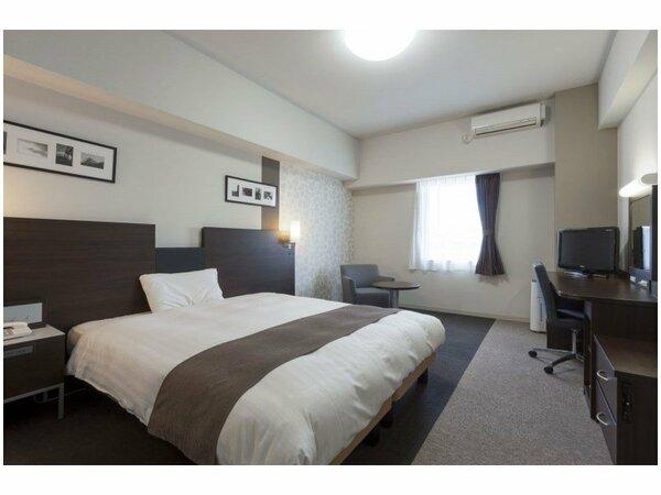 【クイーンスタンダード2】広さ25平米/ベッド幅163cm